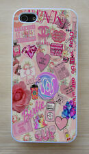 Vintage Floral 5 SOS Tumblr Collage Hard Case For iPhone 4/4S 5/5S,5C,6,6 Plus