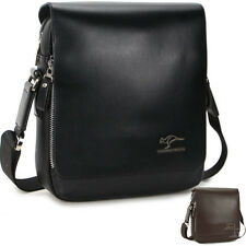 KANGAROO Men faux leather shoulder bag Briefcase fashion messenger bag