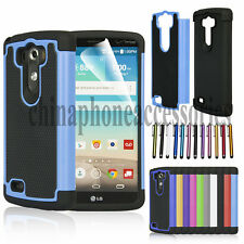 USA for LG G3 D850 Heavy Duty Hybrid Rugged Impact Hard Protective Case Cover