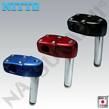 Nitto Japan MX-7 1 Inch Quill Stem for Old School BMX Frames Black, Blue or Red