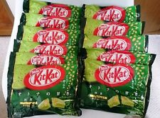 Japan Import! Limited Edition! Nestle Kit Kat Uji Maccha Green Tea 4.91 oz Pack!