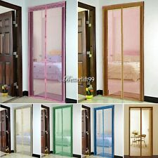 Mesh Insect Fly Bug Mosquito Door Net Netting Mesh Screen Magnets Curtain BF9