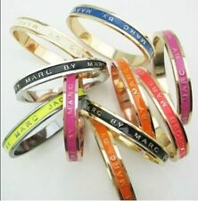 New Classical MARC BY M JACOBS Logo Letters Bracelet Bangle 12 colors available