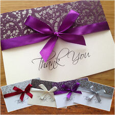 Personalised Wedding Thank You Cards + Envelopes ★★★ Lux ★★★