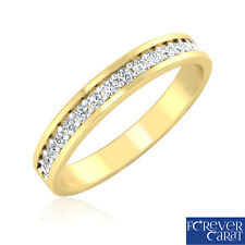 0.21Ct Certified Diamond Ring Real Diamond Band Ring 18kt Hallmarked Gold Ring