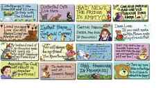 Novelty Inspirational/Funny Quote Fridge Magnets Gift Mum Angel Cat Love Themed