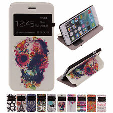 """CHEAP SALE Unique PU Leather Flip Stand Cover Back Case For Apple 4.7"""" iPhone 6"""