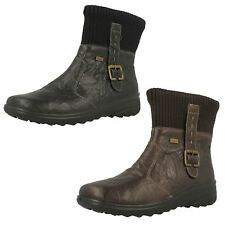 Ladies Rieker All Weather Ankle Boots Z7054