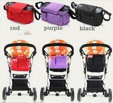 Stroller Organizer Newborn Nappy Bags Baby Cart Pram Buggy Bottle Diaper Bag