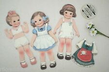 kawaii afrocat PAPER DOLL MATE Card scrapbooking greeting Postcards envelope set