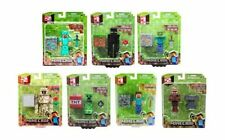 "Minecraft 3"" Action Figures Golem Steve Enderman Creeper Villager Alex Zombie"