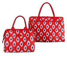 MATCHING INSULATED TOTES LARGE DOCTOR BAG & QUILTED STYLE MATERIAL FROM *SACHI*
