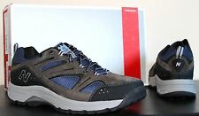 NEW BALANCE MW759GR MENS HIKING COUNTRY WALKING SHOE GRAY BROWN NAVY BLUE BOOT