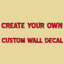 Custom Wall Decal Create Your Own Wall Quotes Choose Vinyl Lettering Stickers