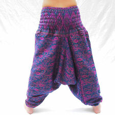 WARM PAISLEY ALI BABA TROUSERS Harem Woolly Hippy Festival Baggy Aladdin Pants