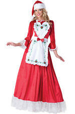 Santa Claus Mrs. Claus Dress Up Outfit Adult Costume