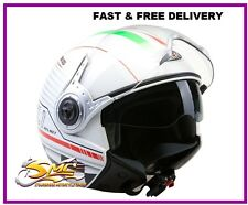 ** NEW ** Viper RS-V18 Open Face Jet Scooter Motorcycle Motorbike Helmet Italy