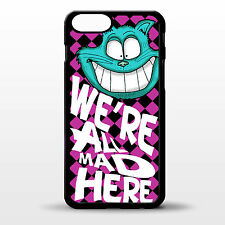 "Cover for Iphone 6 Alice in wonderland cheshire cat quote 4.7"" inch phone case"