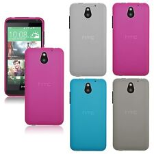 For HTC Desire 610 Stylish Silicone Gel Clear Fitted Case Cover Skin