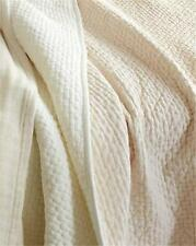NIP $348 EILEEN FISHER Linen Chambray Quilt DBL/QN Turkish ROSE, SFT WHITE, GRAY