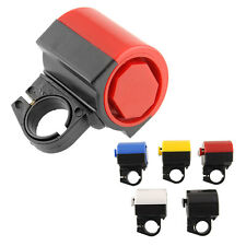 Electronic Bicycle Bike Cycling Handlebar Alarm Loud Bell Horn Security NEW