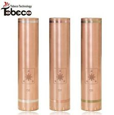 FM MECHANICAL MOD BY BLACKSMITH MODS TOBECO CLONE 22MM 18650 WITH 3 COLOR RINGS