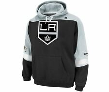 Los Angeles Kings MENS Sweatshirt Pullover Hoodie Ice Classic Logo by Majestic