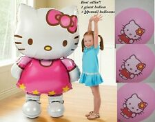Hello Kitty Helium Balloon 116CM Air walker Birthday Party Decoration Baby Gift