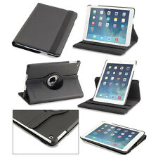 New Folio Folding PU Leather Case Cover for Apple iPad Air + Cleaning Cloth Lot