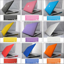 """12 Color Rubberized Hard Case Keyboard Cover For MacBook PRO 13"""" 15"""" (No Retina)"""