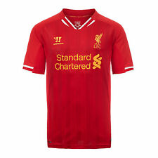 LIVERPOOL F.C. 2013/14 (XLB, LB) KIDS HOME RED S/S FOOTBALL SOCCER SHIRT JERSEY