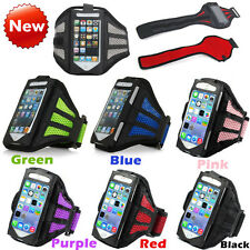 Outdoor Gym Sport Workout Running Adjustable Armband Case Cover For iPhone 4 5