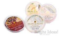 Heart & Home - SOY WAX MELT TART - Use With Wax Melts & Oil Burners