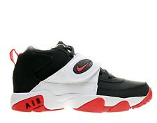 NEW BOYS YOUTH NIKE AIR MISSION GS BLACK/WHITE/RED 630911 003 SIZE 5.5Y - 7Y