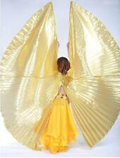 New Belly Dance Costume Opening Isis Wings bifurcate Isis Wings Gold/Silver
