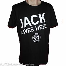Jack Daniels Jack Lives Here JLH T-Shirt genuine official Aus seller