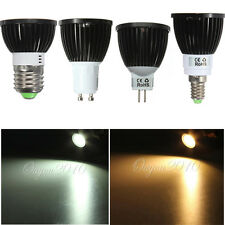 E27 Bombillas E14 GU10 MR16 Dimmable 6W/9W/12W LED COB SpotLight Lamp Bulb FOCOS