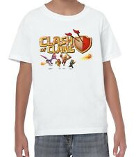Clash Of Clans Iphone Android Video Game Funny T-Shirt for Youth  from S to XL