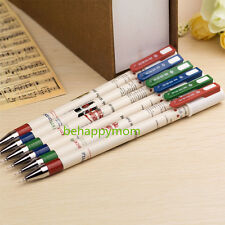 12pcs Creative The British Wind RollerBall Pen/Neutral Pen/Gel Pens best gifts