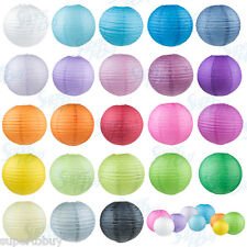 "5/10 Pack of 8"" 10"" 12"" 14"" 16""  Paper Lantern Chinese Decoration Wedding Party"