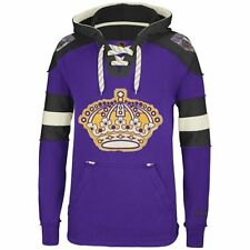 Los Angeles Kings MENS CCM Vintage Sweatshirt Pullover Hoody Purple