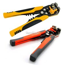Automatic Cable Crimper Crimping Tool Stripper Adjustable Plier Cutter SH