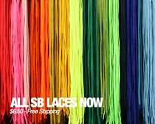 NEW FULLY LACED SB LACES REPLACEMENT SHOELACES FOR NIKE DUNK SB HIGH 60 INCH HI