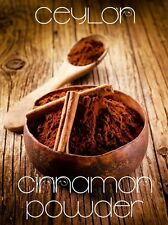 Ceylon 100% Natural Organic Cinnamon Powder-Multiple Sizes Available