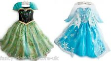 Elsa or Anna Princess Frozen Style Fancy Dress up Costume Party outfit New tags