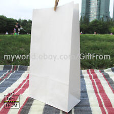 X 12,50,100 FOOD SAFE Wedding Party Favor bags_lolly treat lunch merchandise bag
