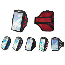 Running Biking Sports Mesh Armband Case Cover For Samsung Galaxy Note 5 4 3 2 S6