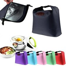Thermal Cooler Insulated Waterproof Lunch Box Storage Picnic Bag Pouch Portable