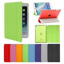 New Tri-Fold Slim Leather Stand Case Smart Cover Sleep Wake For iPad Mini3