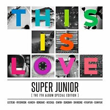 [Super Junior] 7th album Special Edition  [This is Love]  CD + Poster Sealed